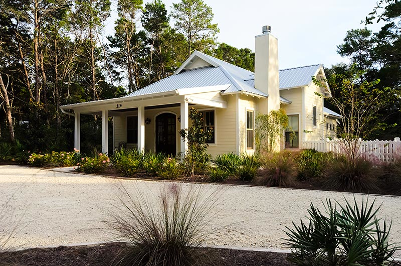 House and Flourish- House- Old Seagrove Beach Cottage